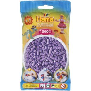 MIDI BEADS 1000 PCS PASTEL PURPLE