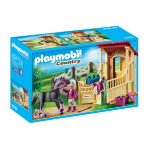 PLAYMO-HORSE STABLE WITH ARABER