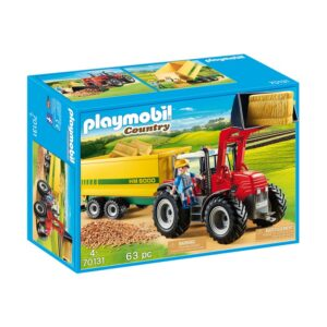 PLAYMO-TRACTOR WITH FEED TRAILER