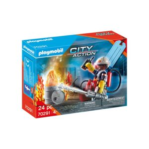 PLAYMO-FIRE RESCUE GIFT SET