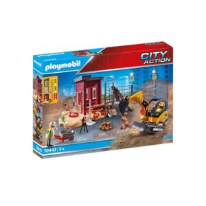 PLAYMOBIL 70443 MINI EXCAVATOR