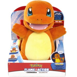 POKEMON - FLAME ACTION CHARMANDER M/LYD
