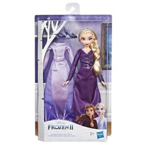 Disney Frozen 2 Doll And Extra Fashion Elsa