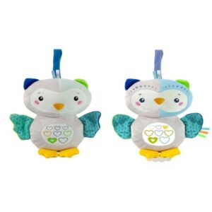 First Month Owl Lighting Plush - INT