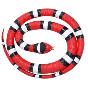 Wild Republic Rubber Snakes Scarlet 117 cm