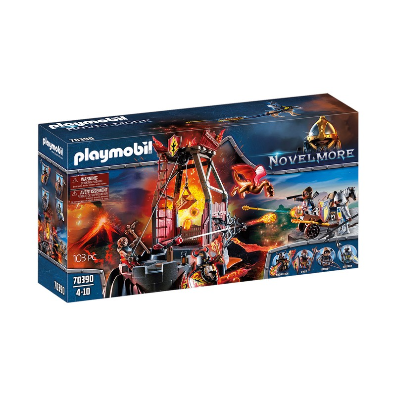 PLAYMOBIL 70390 FIRE LAVA MINE