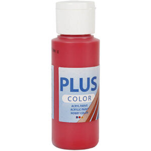 PLUS AKRYLMALING BERRY RED