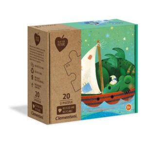 2x20 Puzzles Kids Sweet Dreams (100% Recycled)