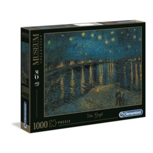 """1000 pcs Museum Collection - Van Gogh """"Starry Night Over the Rhone"""""""