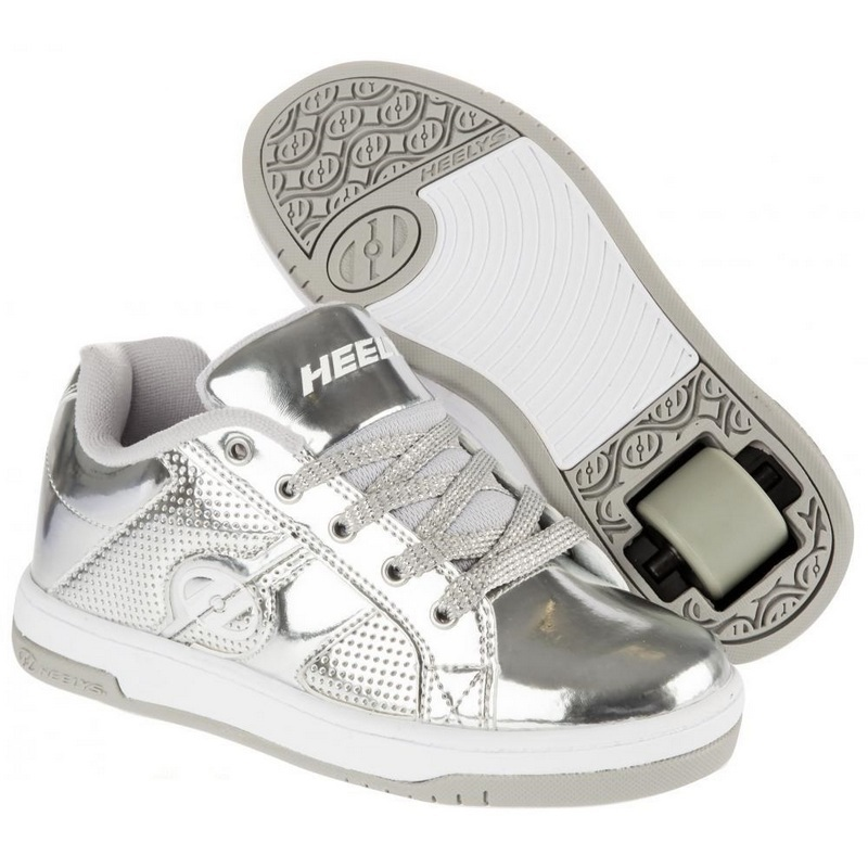 HEELYS SPLIT CHROME STR 33 770449