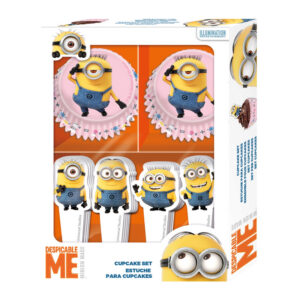 CUPCAKE FORMER/TOPPER MINIONS